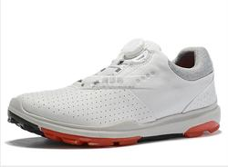 golf shoes leather men golf shoes soft Rotating fastener