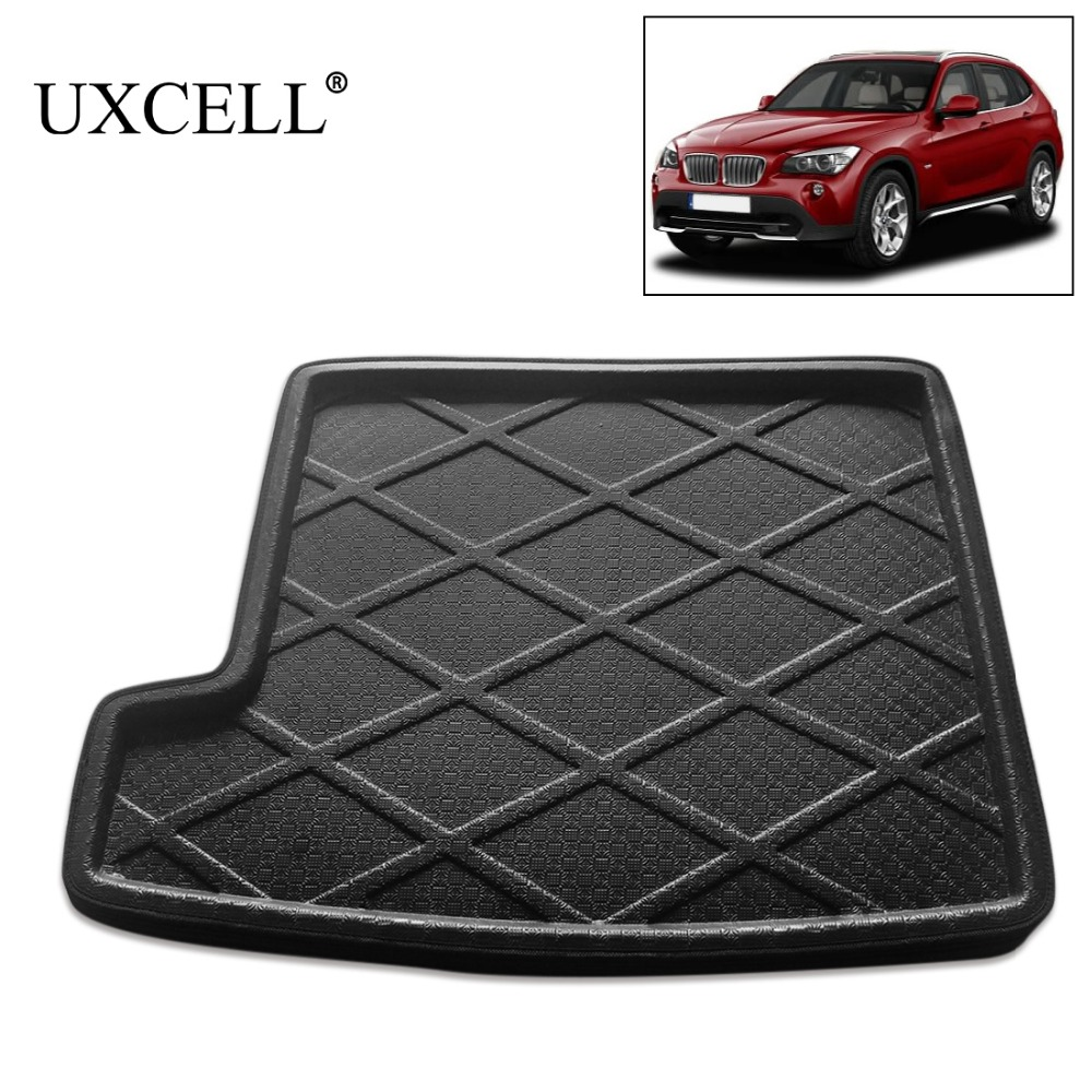 UXCELL Rear Trunk Tray Boot Liner Cargo Floor Protection Mat Cover Carpet For For BMW X1 X3 X5 5 Series 520i 525i 528i 530i 540i