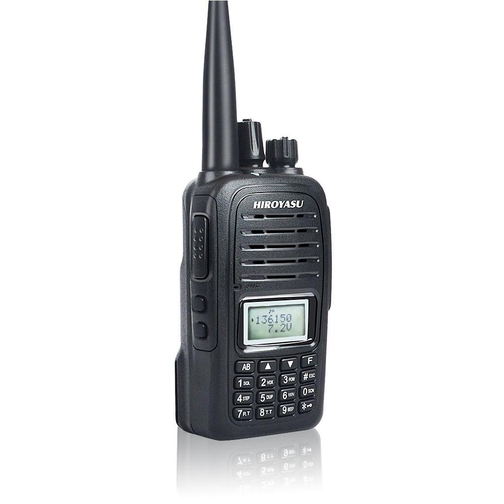 Waterproof Walkie Talkie VOX Dual Band VHF 136-174MHz & UHF 400-520MHz Scrambler Roger Beep Talkie Talkie HIROYASU F2000