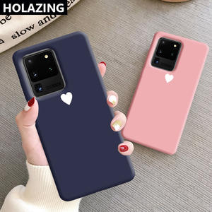 Phone-Cases Soft-Cover S8 Note Ultra-Note Samsung Galaxy 10-Plus for 10-9/8-case/Heart-printed/Couple