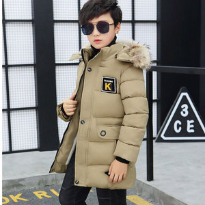 Image 5 - Kid Winter Jacket A Boy Park 12 Childrens Clothing 13 Boys 14 Winter Clothing 15 Jacket 16 Thick Cotton Thickening  30 Degrees