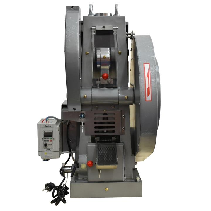 DP-30 Vienkartinis perforatorinis tablečių presų aparatas tablečių gamintojas GMP stendas tablečių presavimo mašina saldainių presas mašina stalo presavimo mašina