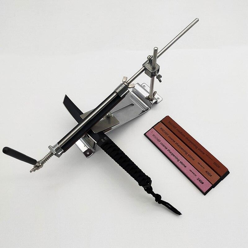 Кухонная точилка для ножей алмаз точильного камня набор инструментов для заточки Многофункциональная точилка с фиксированным углом apex edge blade ruby bar|Точилки|   | АлиЭкспресс