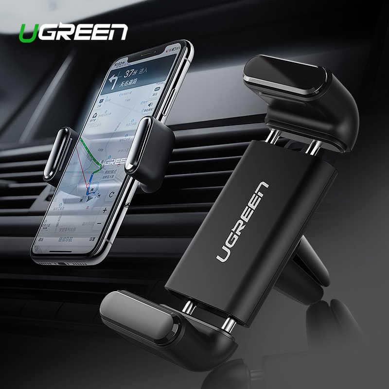 Ugreen Mobil Ponsel Pemegang untuk Ponsel Anda Dudukan untuk iPhone 11 8 Udara Vent Gunung Ponsel Mendukung di Car Car Stand