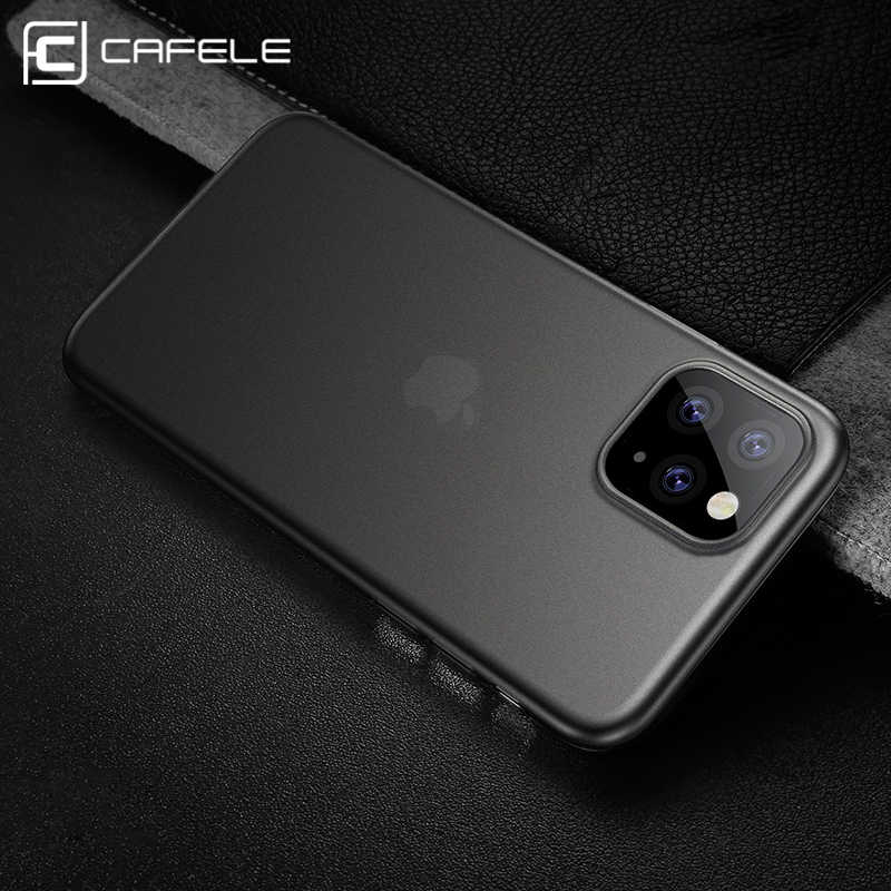 Cafele Ultra-fino PP Matte Case para iPhone 5 11 pro X XR Xs MAX 5S Anti-impressão digital tampa do telefone para o iphone 11 pro Xs XR Xs MAX