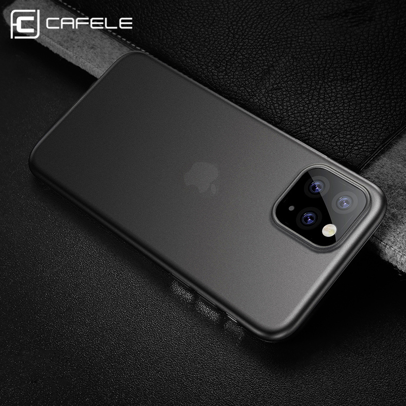Cafele Ultra-thin Matte PP Funda para iPhone 11 pro X XR MAX 5 5s Anti-huella digital Funda para teléfono para iPhone 11 pro Xs XR Xs MAX