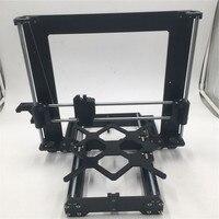 Não Montados! Todos os metal prusa i3 mk3 impressora 3d quadro mecânico kit preto anodizado conjunto de quadros de alumínio|Peças e acessórios em 3D| |  -