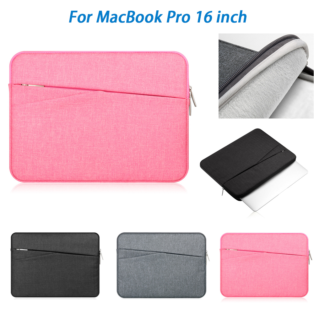For MacBook Pro 16 Inch Nylon Notebook Bag Protective Dustproof Liner Package For Macbook Air Macbook Pro 2019