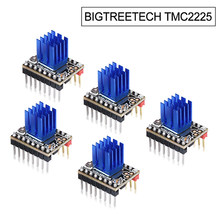 Peças de impressora 3d vs tmc2208 tmc2209 tmc2130 tmc5160 para skr v1.3 mini e3 bigtreetech tmc2225 v1.0 motorista do motor deslizante