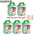 10-100 Листы Fuji Fujifilm instax mini 9 фильмы с белым краем и 3-дюймовая пленка для Фотоаппарат моментальной печати mini 11 8 9 фотоаппаратов моментальной печ...