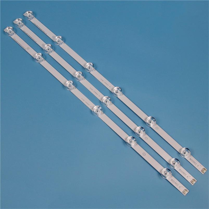 TV Backlight Strip For LG 32LB580B 32LB582B 32LB620B LED Strip Kit Backlight Bars For LG 32LF550B 32LF560B Lamps Band LED Matrix