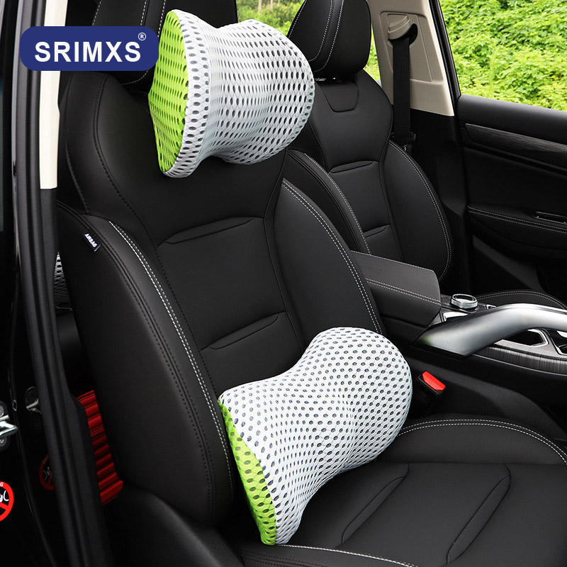 Car Seat Pillow Universal Memory Head Rest Automobile Headrest Pillow Travel Neck Cushion Support Holder For Auto Neck Pillow