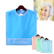 Bib-Protector Eating-Accessories Dining-Apron Adult Waterproof Disability Washable Large