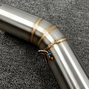 Image 5 - K6 GSXR 600 750 GSXR700 GSXR750 Motorcycle Exhaust Muffler Middle Link Pipe Tube Slip On For Suzuki GSX R600 R700 R750 K6 K7 K8
