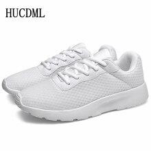 HUCDML Ultralight Breathable Mesh Casual Shoes Summer Big Size 35-47 Unisex Men