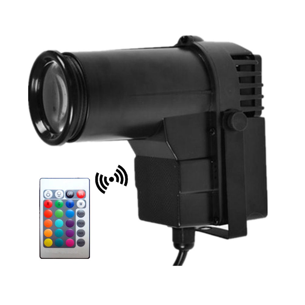 Wireless Remote Control 10W RGB LED Spotlight Beam Effect Stage Lighting Pinspot DJ Disco Party KTV Backlight Stage Spot Light