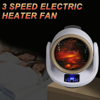 500W Electric Heater Fan Room Space Heater Air Heating Winter Comfortable Warmer Device Wall 220V Home Office Mini Portable 2019