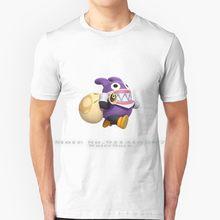 Nabbit T Shirt 100% czystej bawełny Nabbit Super złodziej królik fioletowy worek króliczek nowy Super Bros U Nintendo włamywacz ukraść gra wideo