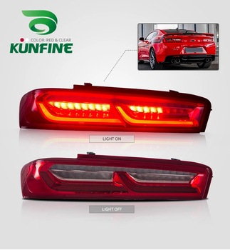 Car Tail Light Assembly For Chevrolet Camaro 2015-2017 Brake Light With Turning Signal Light Car led Tail light Tuning Parts