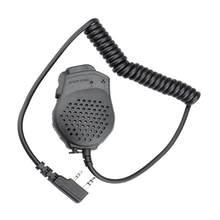 Dupla PTT Fone de Ouvido MIC Speaker UV-82 UV-8 UV82L UV-89 UV-82 Plus UV-82TP GT-5TP UV-82HP UV-82HX Microfone parágrafo UV-8D UV 82