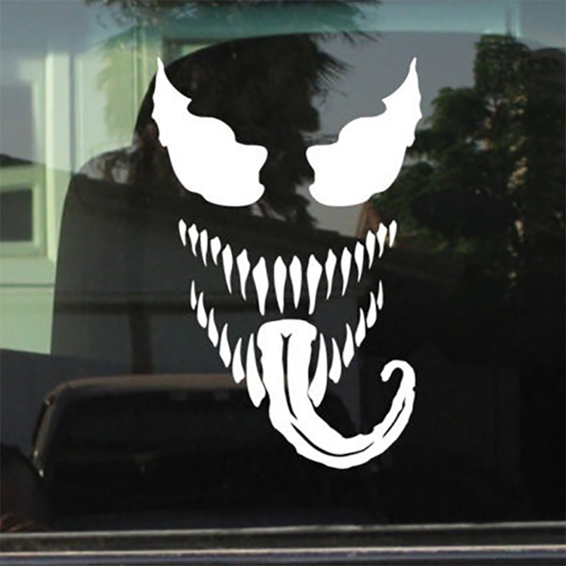 VENOM Stickers SPIDERMAN VINYL STICKER For Car Laptop Motorcycle 17.5x11.25cm