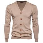 Men Cardigan Sweater...