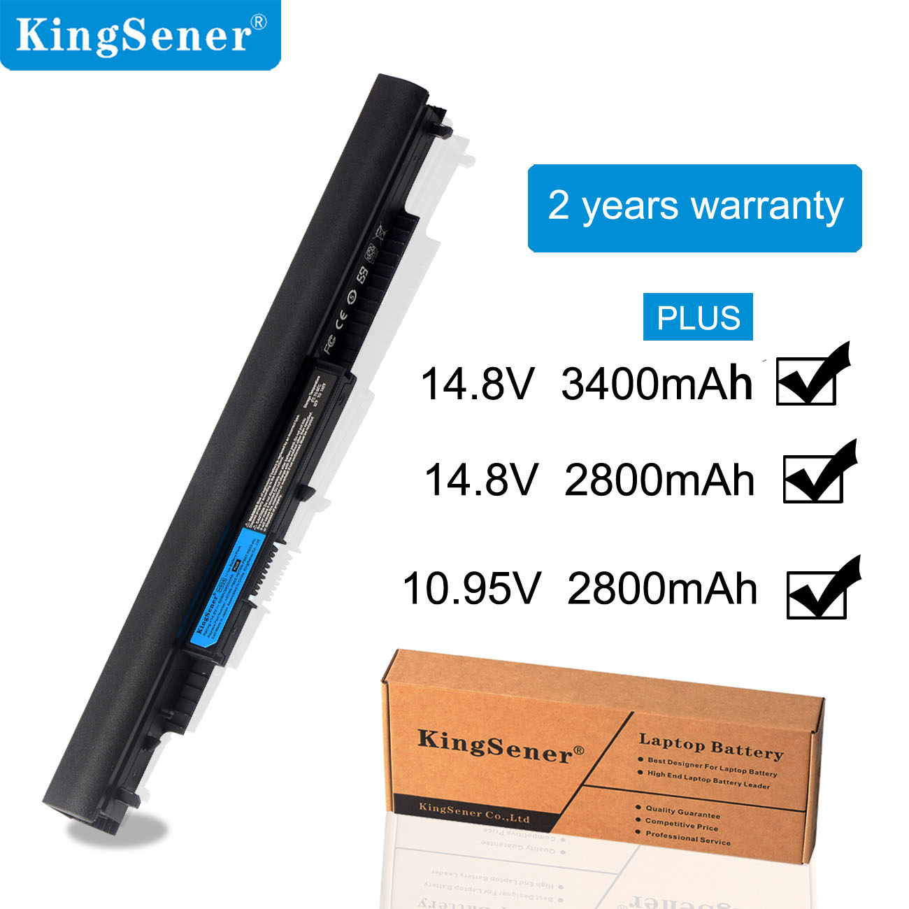KingSener New HS04 Laptop Battery For HP Pavilion 14-ac0XX 15-ac121dx 255 245 250 G4 240 HSTNN-LB6U HSTNN-PB6T/PB6S  HSTNN-LB6V