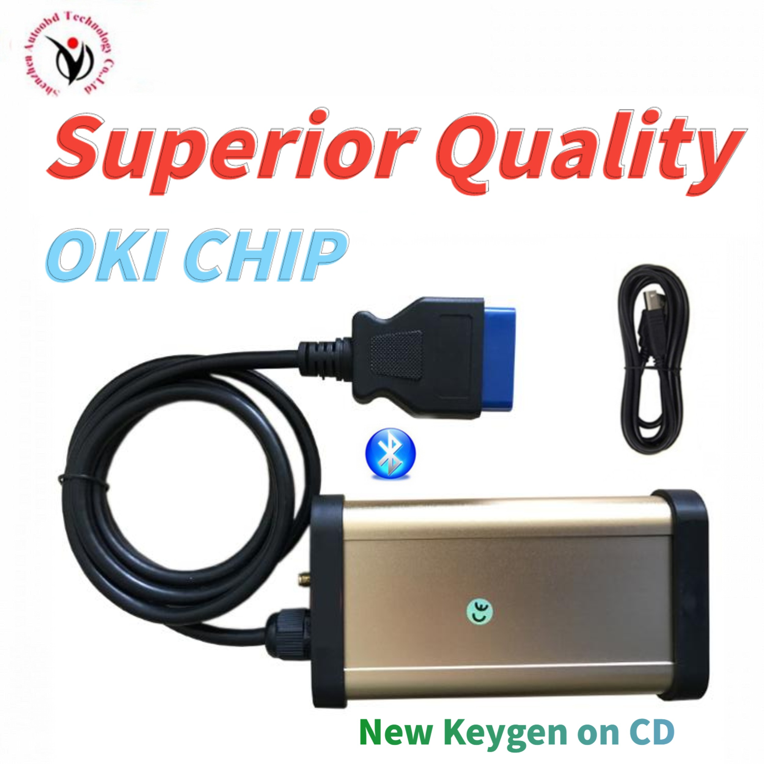 Best VD TCS CDP Plus Bluetooth Scanner Vd Ds150e Cdp With Oki Chip For Vdijk Autocoms Pro Car Truck Professional Diagnostic Tool