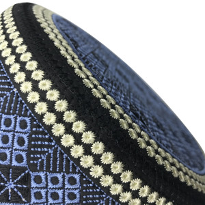 Image 5 - 2020 New Muslim Men Prayer Hats Cotton Embroidery Leisure Saudi Arabia Islamic Hat Men Headscarf Clothing Topkippot Turban