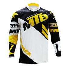 Горные Джерси Мотокросс футболка эндуро mtb bmx Велоспорт Горный