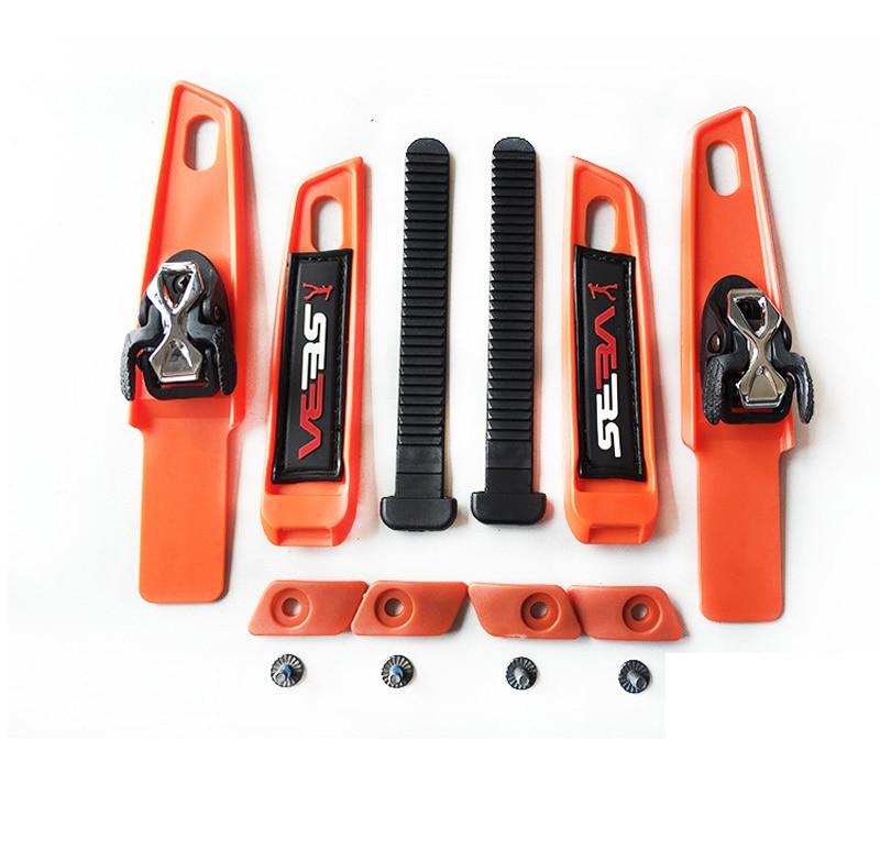 1 Set Inline Roller Skate Cuff Colorful Buckle Belts Legging Buckle Sets For SEBA HV HD HVC HVG Skate Shoes S M
