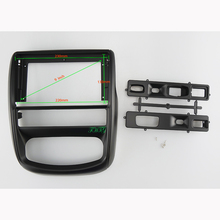 9 INCH Car Audio Frame GPS Navigation Fascia Panel Car dvd Plastic Frame Fascia is suitable for RENAULT DUSTER/ NISSAN TERRANO