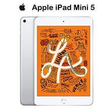 Apple – iPad Mini 5 d'origine 2019, version argent WiFi 64 go, écran Retina 7.9 pouces, puce A12 Touch ID, prend en charge Apple Pencil IOS