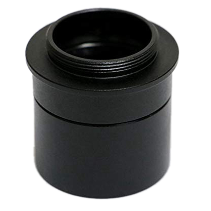 Astronomical Telescope C-Mount Adapter 1.25 Inch Tube Extinction Adapter For Eyepiece Converter 31.7 Mm To C CS CCD Interface