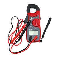 Pince Multimètre numérique Portatif D'AFFICHAGE à CRISTAUX LIQUIDES Pince Multimètre AC/DC Tension Testeur de Résistance Au Courant Multimètre Testeur