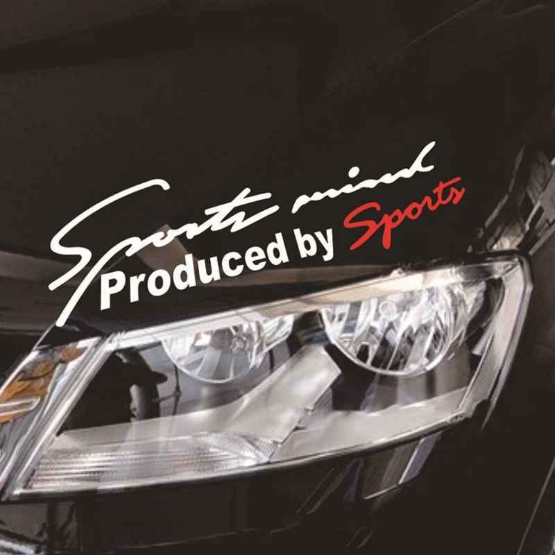 Lámpara reflectante de coche ceja vinilo deportivo para automóvil para BMW E90 F30 F10 Audi A3 Opel Insignia Alfa Romeo Ssangyong Accesorios