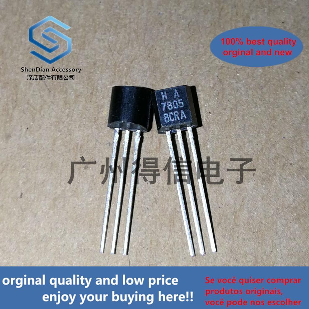 50pcs 100% Orginal New HA 7805 78L05  Zener TO-92 Real Photo