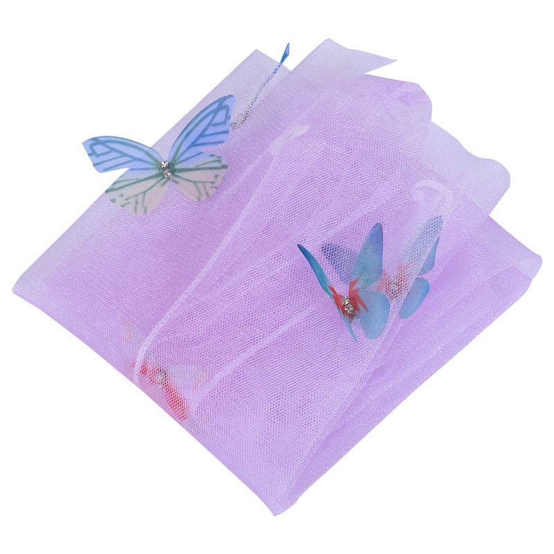 Women's Handmade Butterfly Flowers Mesh Socks Lolita Ladies Girl's Transparent Socks Gauze Sox Female Hosiery