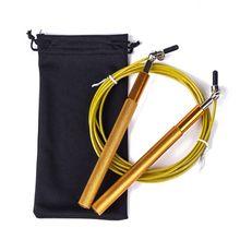 Velocidade saltar corda 3m metal rolamento alça ajustável pular corda para corda corda corda boxe aptidão pular treino treinamento n