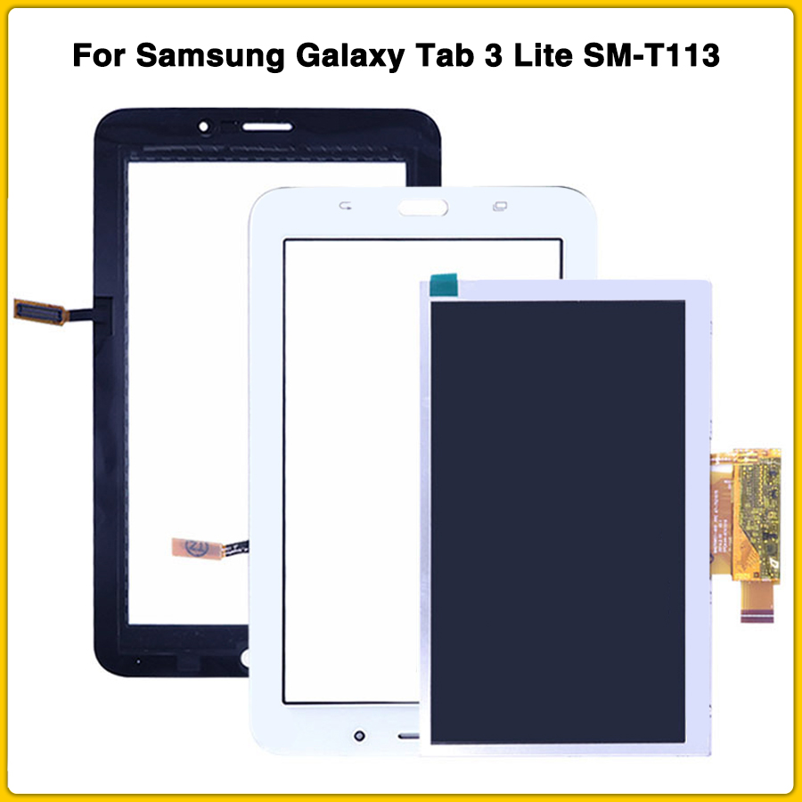 Touch-Screen-Glass-Digitizer-for-Samsung-Galaxy-Tab-E-Lite-SM-T113 T113 WHITE