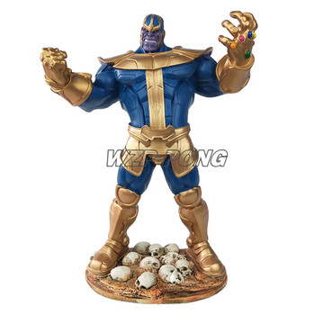33CM Avengers 4 Endgame Thanos Figurine Dolls Toys Resin Statue Bust Action Figure Collectible Model Toy Gift