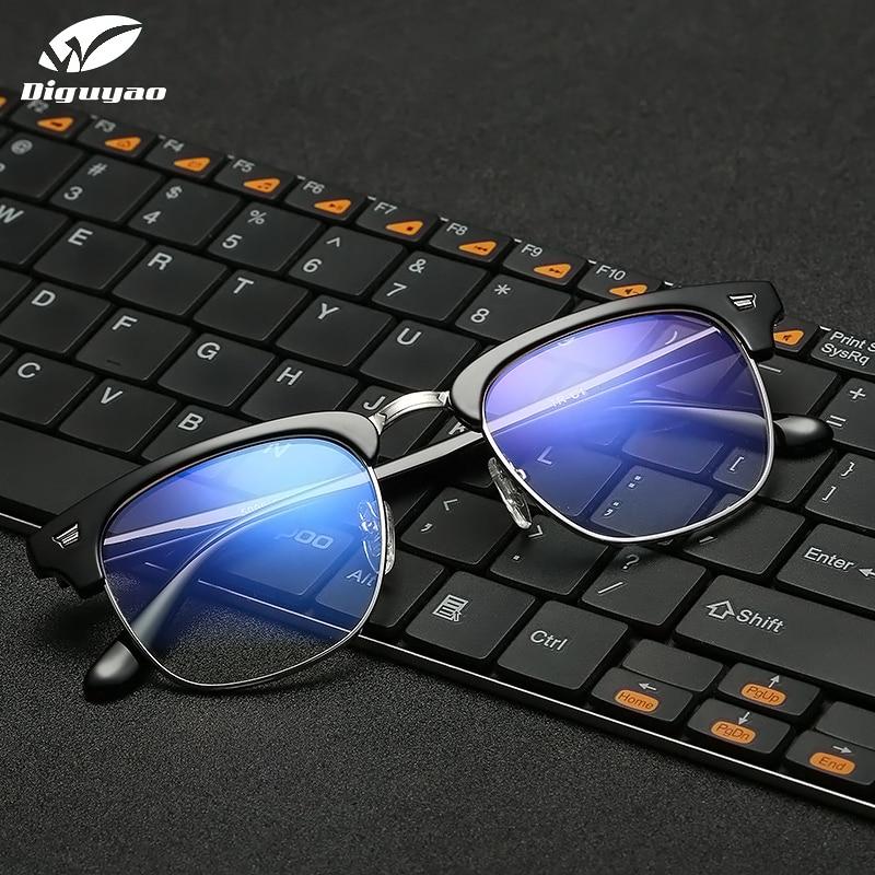DIGUYAO Blue Light Glasses Women Men Anti Blue Ray Glasses Computer Glasses TV Gaming Glasses Blue Light Blocking Glasses