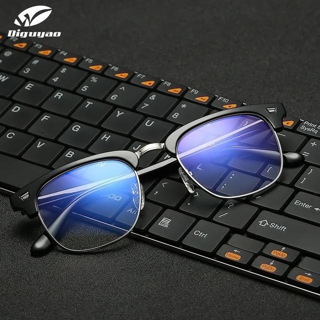 DIGUYAO מותג זכר חסימת משקפיים אופטי עין מסנן נשים אנטי כחול מחשב משקפיים טלוויזיה משחקי Eyewear גברים אנטי כחול משקפיים