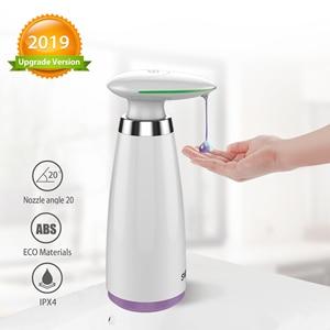 Image 1 - Автоматический диспенсер для мыла, бесконтактный антисептик, 350 мл