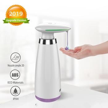 350ml distributore automatico di sapone disinfettante Touchless a mano libera Dispenser per bagno sensore intelligente Dispenser di sapone liquido per cucina