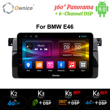 Ownice K3 K5 K6 Octa Core 4G LTE DSP Android 9,0 dvd del coche para bmw E46 M3 navegación GPS canbus radio RDS obd 360 Panorama óptico(China)