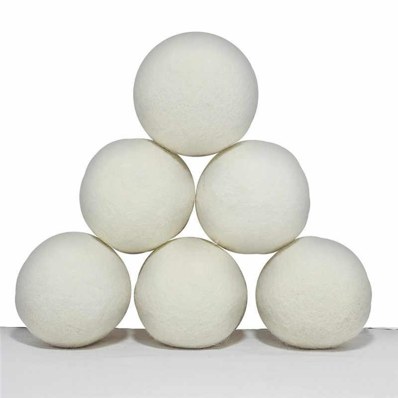プレミアムウールドライヤー Lavanderia 洗濯ボール洗濯きれいなボール再利用可能な天然有機洗濯ボール柔軟剤ホット販売