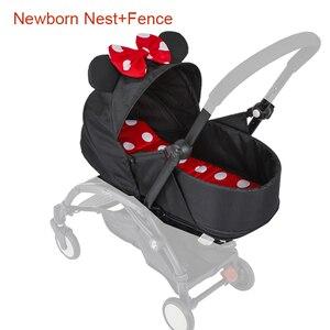 Image 2 - Carrinho de bebê, cesta para dormir 0 6m, recém nascidos, ninho para nascidos, babyzen yoyo yoya, bolsas para dormir de inverno acessórios para carrinhos