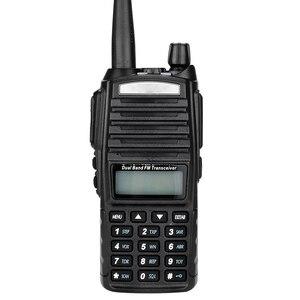 Image 3 - Walkie Talkie 50km 5W UV 82 Two Way Radio Station Transceiver Dual Band Communicator USB Charging Waterproof Walkie Talkie