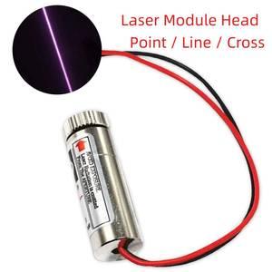 650 нм 5 МВт красная точка/линия/Крест лазерный модуль головка стеклянный объектив Фокусируемый промышленный класс 10*30 мм